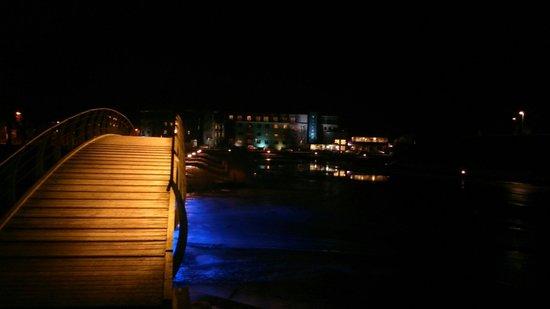 Viiking: Парк рядом с гостиницей. Ночью очень красиво!