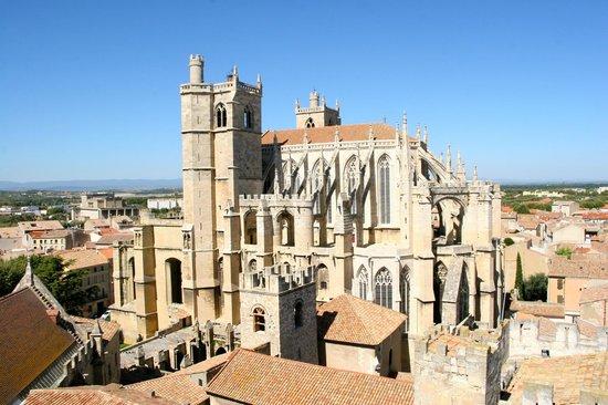 Palais des Archevêques : La Cathédrale St Just et St Pasteur