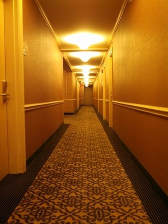 Ambassador Hotel: Hallway