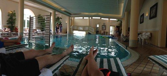 Hotel Terme Roma : La piscina coperta