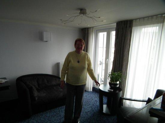 City Partner Top Hotel Kraemer: Ruimte in overvloed in de suite