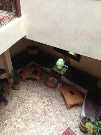 Riad Thais: Le salon