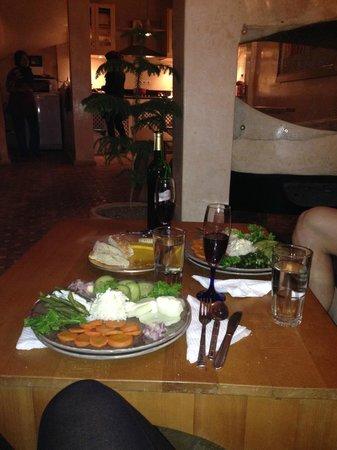 Riad Thais: L'entrée... des légumes délicieux !!!