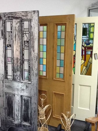Crushed Chilli Gallery: Traditionally made Stained Glass Doors