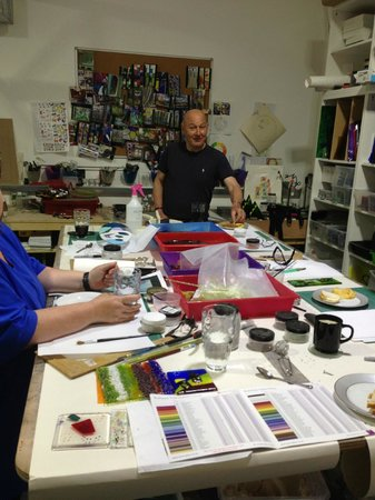 Crushed Chilli Gallery: Fused Glass Workshop