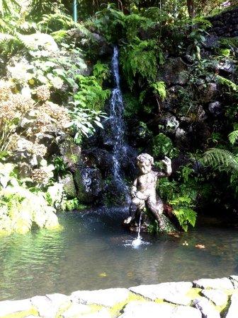 Monte Palace Tropical Garden : Wasserfall