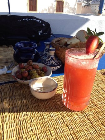 TAROS CAFE RESTAURANT : Daïquiri fraises, un délice