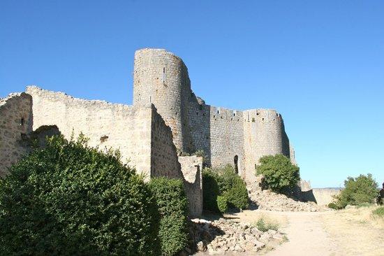 Château de Peyrepertuse : Château St Georges à Peyrepertuse