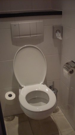 Holiday Inn Express Nurnberg-Schwabach: Toilet where you can separately close your door
