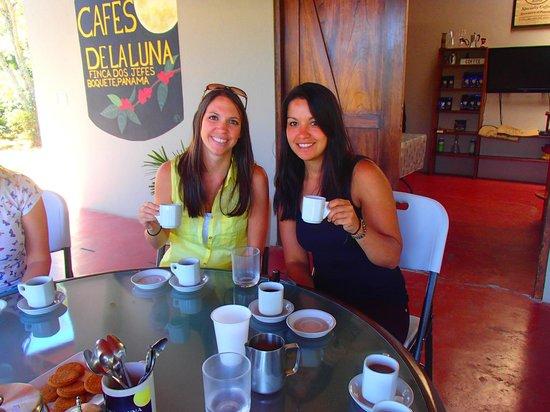 Boquete Coffee Tour : Coffee tasting