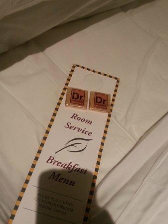 Kimpton Marlowe Hotel : Turndown Service