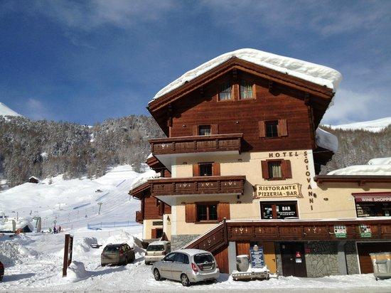 Hotel San Giovanni: Vinter