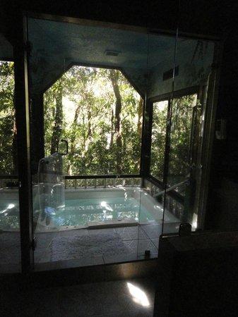 Hidden Canopy Treehouses Boutique Hotel : Eden Jacuzzi