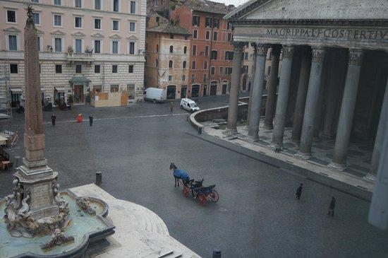 Pantheon Royal Suite: Vista desde la habitación
