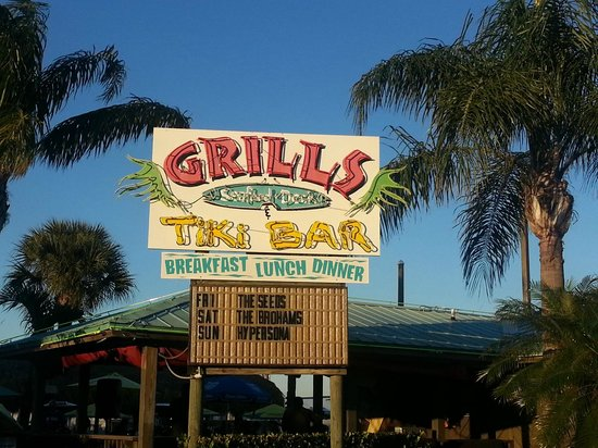 Grills Seafood Deck & Tiki Bar : GREAT place to eat FRESH seafood!