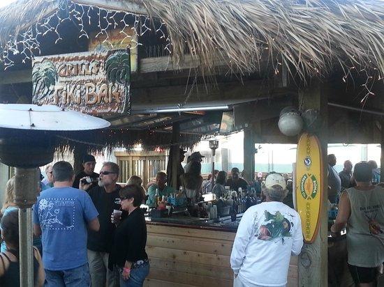 Grills Seafood Deck & Tiki Bar : Awesome Tiki Bar!