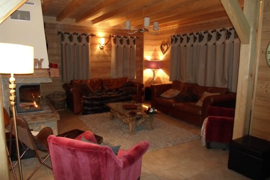 Chalet Grand Coeur : Living area