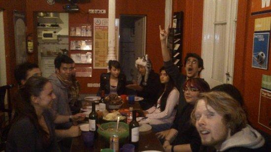 The Hostel-Inn Buenos Aires: Con los Amigos de todos lados