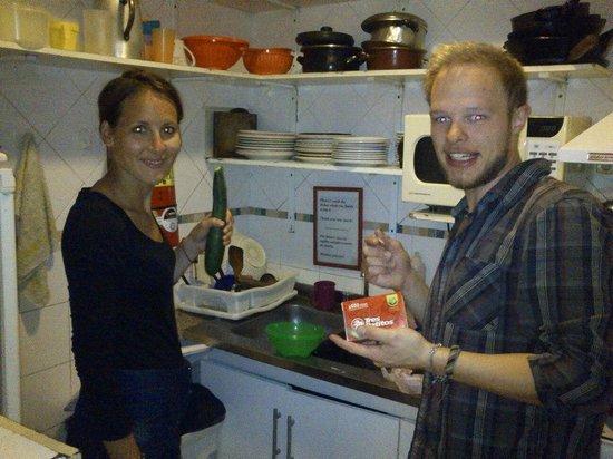 The Hostel-Inn Buenos Aires: Cocinando