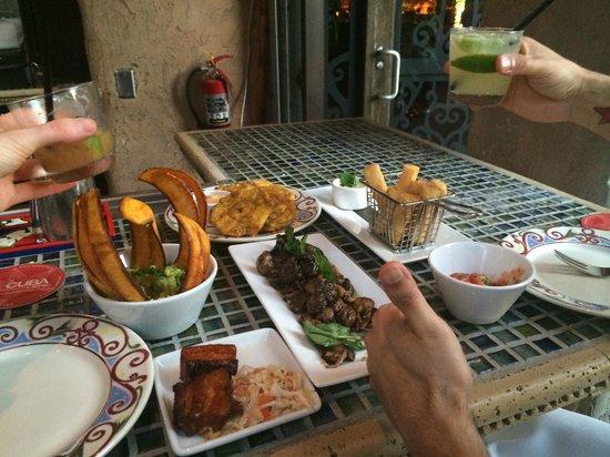 Cuba Libre Restaurant & Rum Bar - Orlando: Happy Hour feast!
