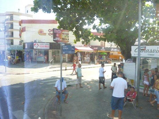 Canasvieiras: Cruce de calles principales