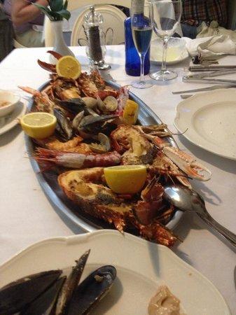 Rias Bajas : Grillade de fruits de mer