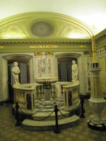 Catedral Metropolitana de Montevideo (Catedral Matriz): Sala da pia batismal