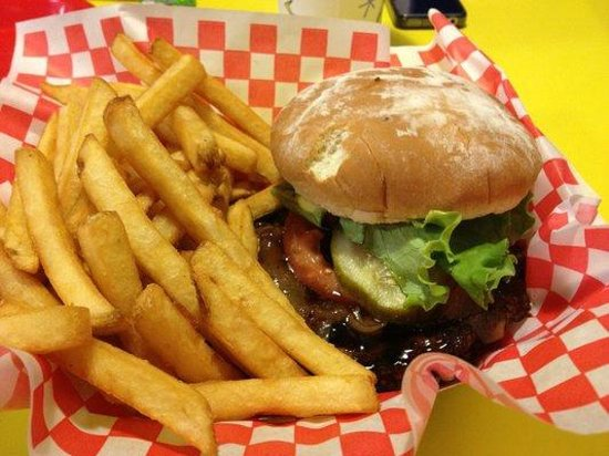 Teddy's Bigger Burgers: Teri Burger (Teriyaki)