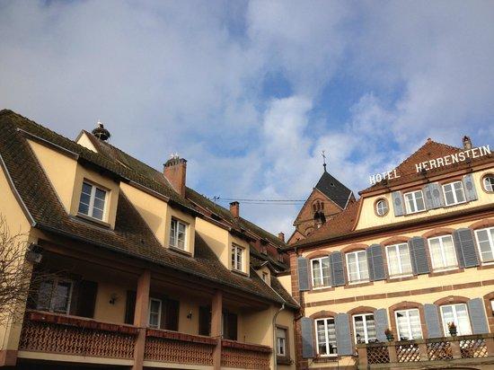 Hôtel-Restaurant du Herrenstein: L'hôtel