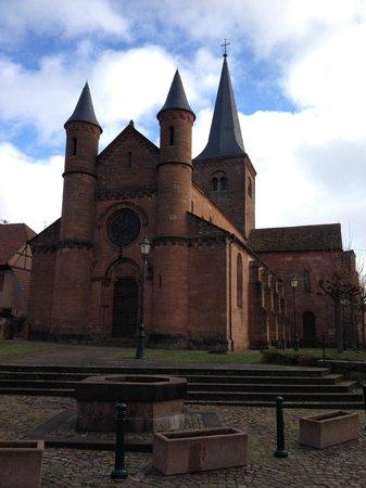Herrenstein : l'église
