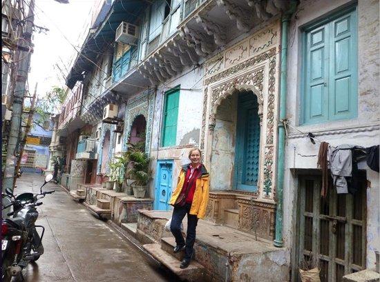Delhi Shopping Tour : façades de maisons