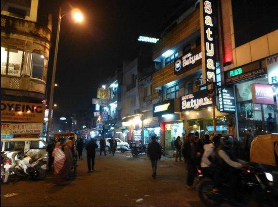 Delhi Shopping Tour : la nuit arrive