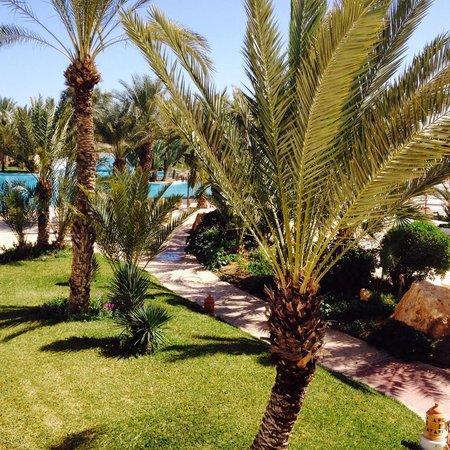 Vincci Resort Djerba : Pour rejoindre la piscine