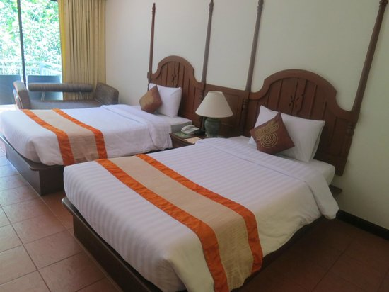 Krabi Tipa Resort : Beds