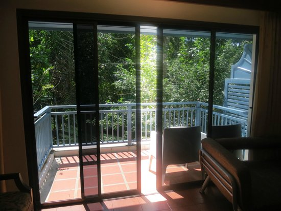 Krabi Tipa Resort : Balcony with a jungle view
