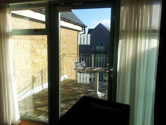 De Vere Cotswold Water Park: view from bedroom