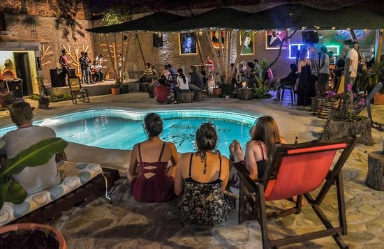 El Viajero Hostel Cali: PISCINA