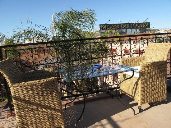 Riad Dar Anika: roof terrace