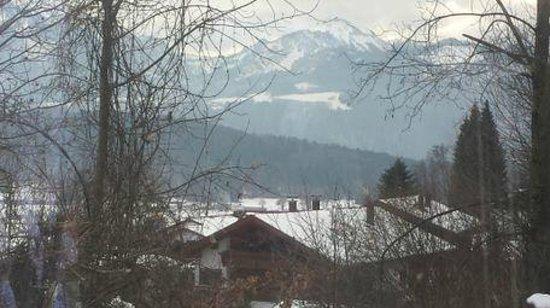 Gasthof Zinkenbachmühle: uitzicht