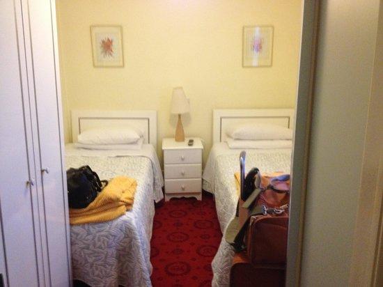 Celtic Hotel: Room 15- standard twin