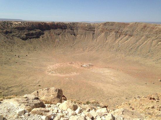 Meteor Crater: Кратер