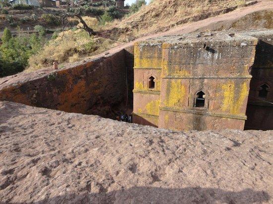 Felsenkirchen von Lalibela: St George