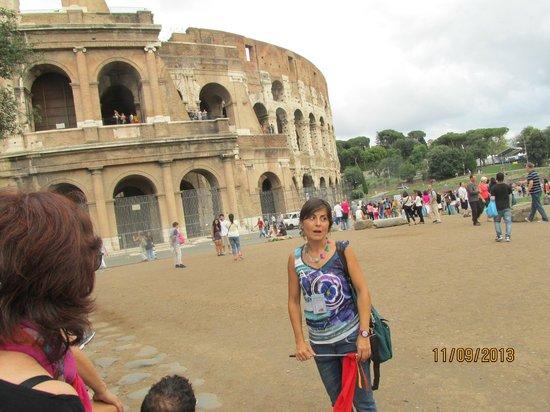 Rome Free Tour : Antonella, gracias !!!