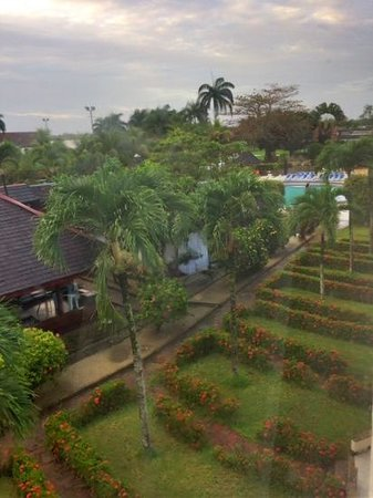 Torarica Hotel & Casino: view from room 304
