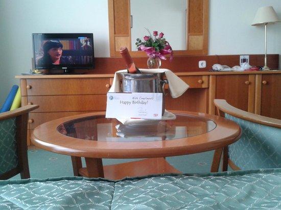 Hotel Palace Heviz: Поздравление отеля к дню рождения