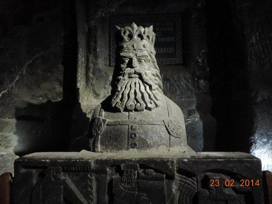 Cracow Saltworks Museum - Salt Mine Location: Таким я себе представляю легендарного Балина из Властелина колец