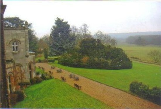 Studley Castle Hotel and Conference Centre: the view from our bedroom