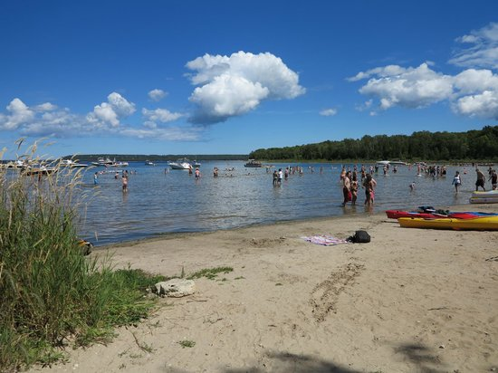 Peninsula State Park : Nicolet beach