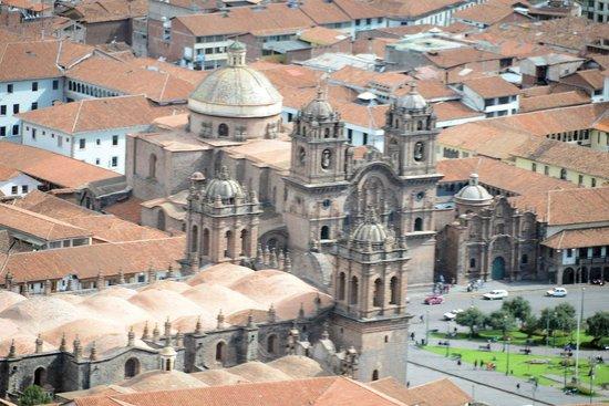 Casa Andina Premium Cusco : The cathedral in Cusco-City
