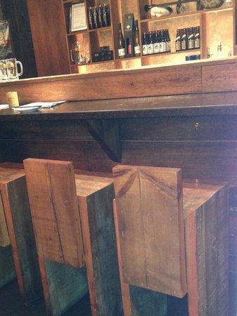 Kinka Izakaya Original: bar stools